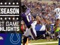 Ravens vs. Colts - Post Game Highlights