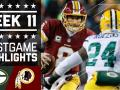 Packers vs. Redskins (Week 11)