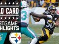 Dolphins vs. Steelers - NFL Wild Card Game Highlights