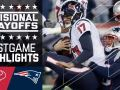 Texans vs. Patriots - NFL Divisional Game Highlights