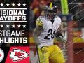 Steelers vs. Chiefs - NFL Divisional Game Highlights