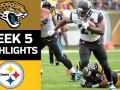 Jaguars vs. Steelers - NFL Week 5 Game Highlights