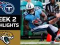 Titans vs. Jaguars - NFL Week 2 Game Highlights