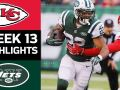 Chiefs vs. Jets - NFL Week 13 Game Highlights