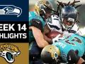 Seahawks vs. Jaguars - NFL Week 14 Game Highlights