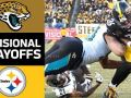 Jaguars vs. Steelers - NFL Divisional Round Game Highlights