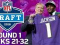 Picks 21-32: Lamar Jackson Gets Drafted, & WR's Go off the Board!