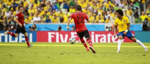 Brazil and Mexico match at the FIFA World Cup, 06 17, 2014.