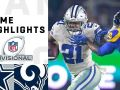 Cowboys vs. Rams Divisional Round Highlights