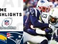 Chargers vs. Patriots Divisional Round Highlights