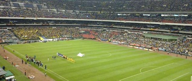 The Aztec Stadium in Mexico City. Home of the MNFT