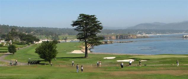 18th Hole of the Pebble Beach Golf Links